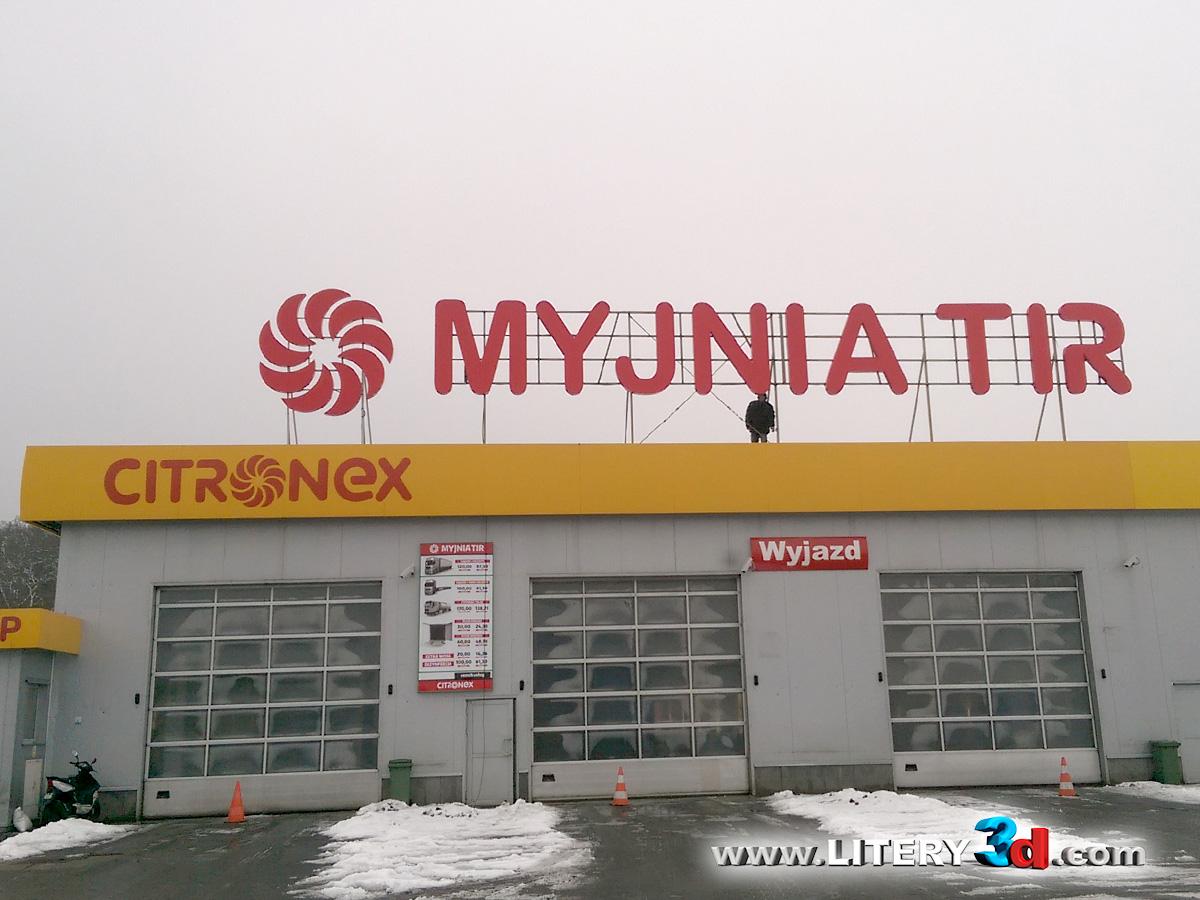 MYJNIA TIR -Mostki