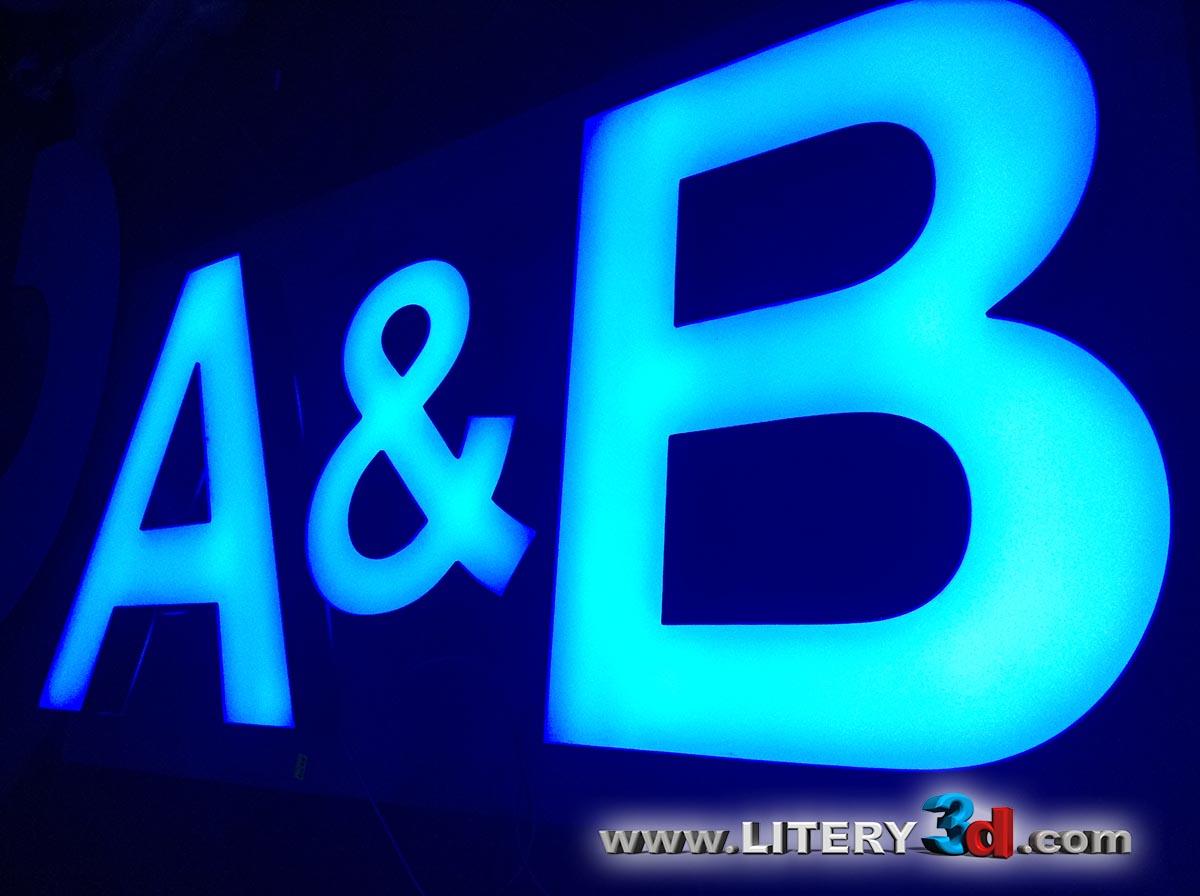 A & B