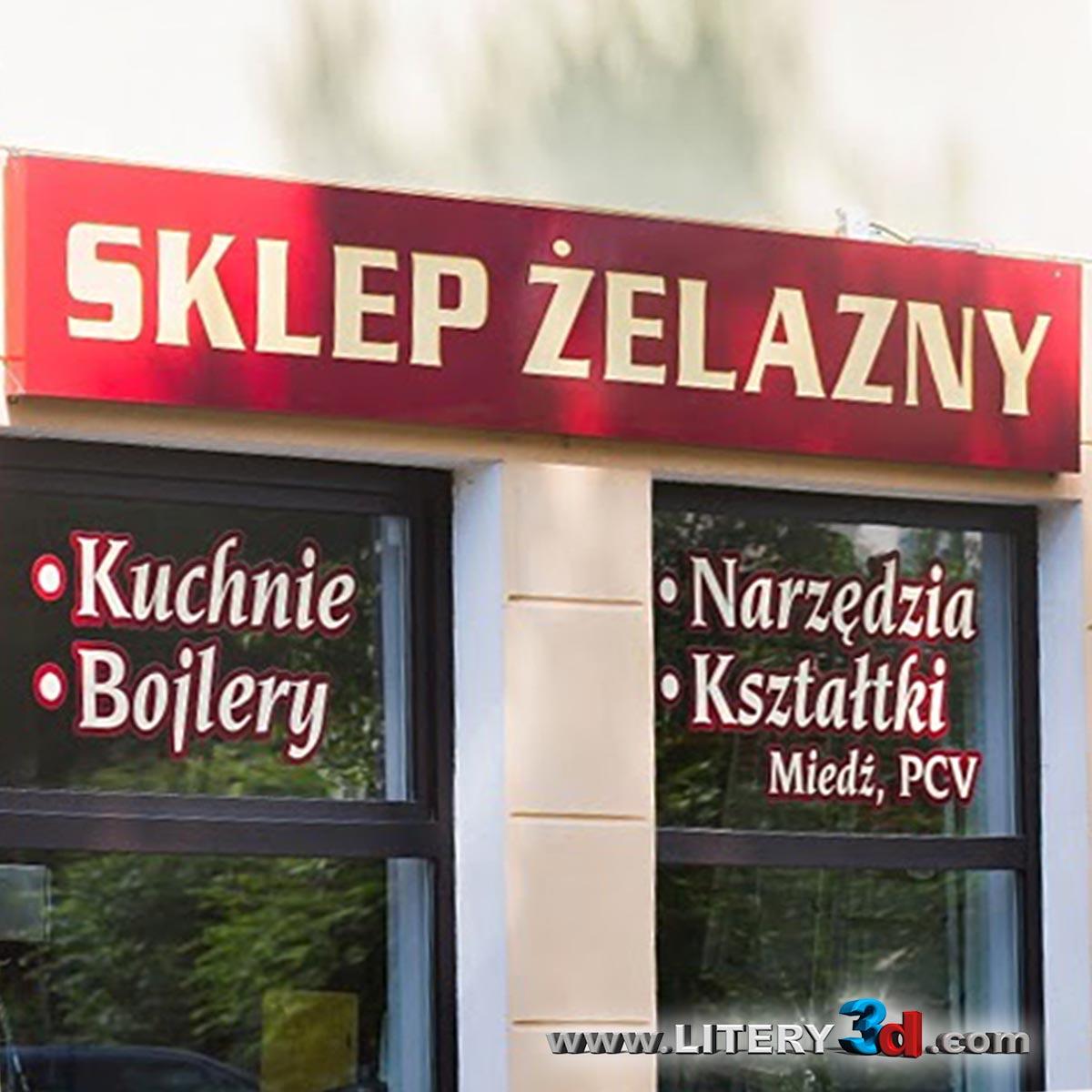 SKLEP ŻELAZNY - Nysa