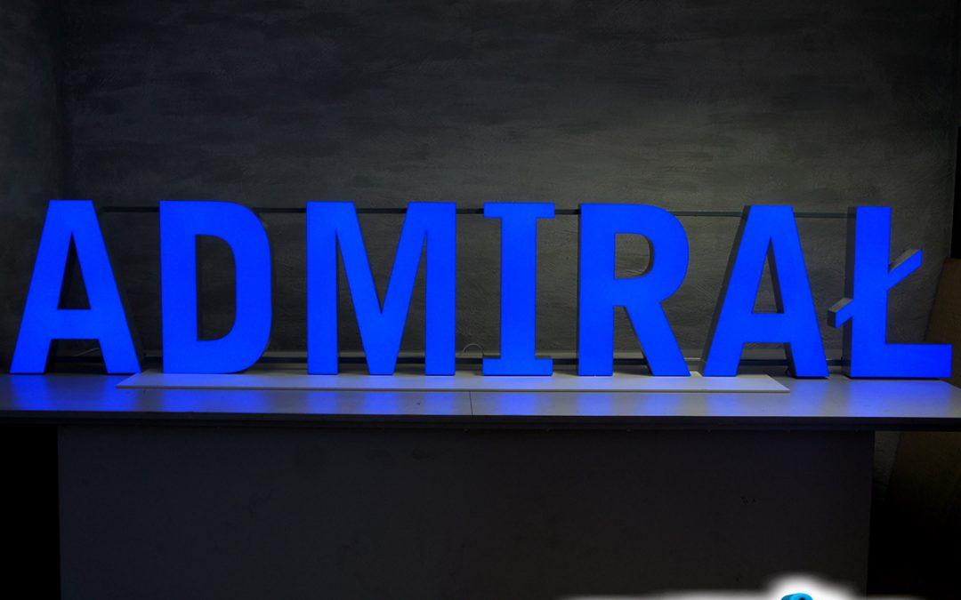 """Litery 3d – realizacja """"Admirał"""""""